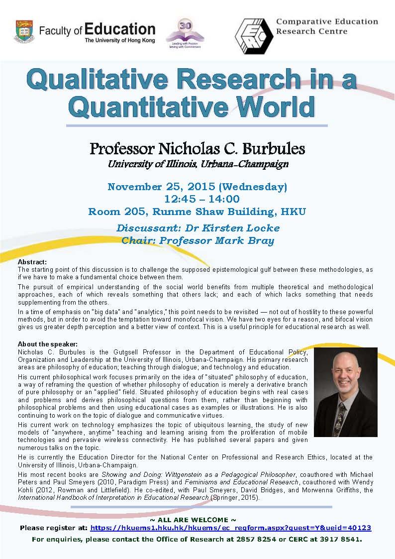 quantitative research paper in education