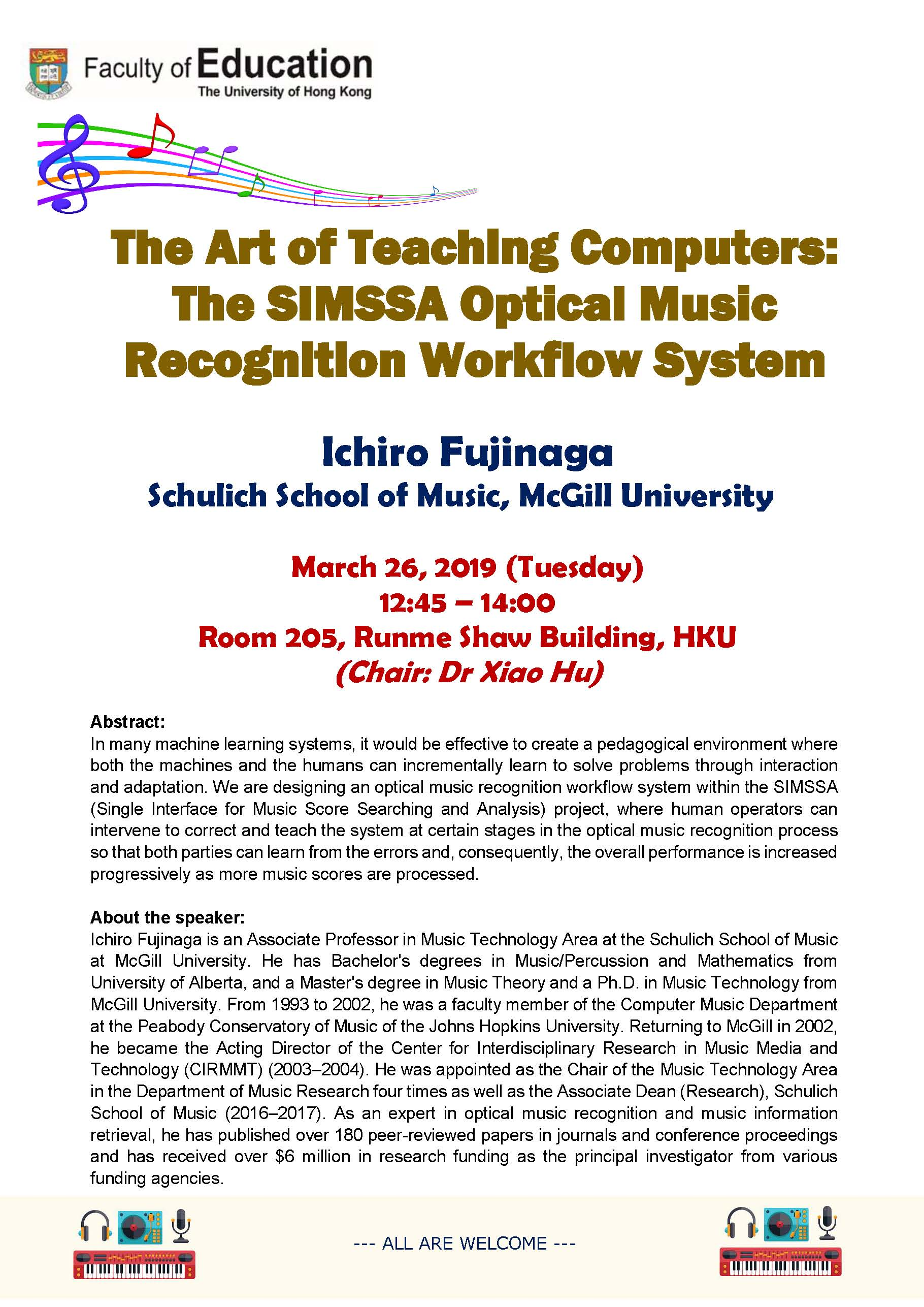 The Art of Teaching Computers: The SIMSSA Optical Music