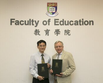MOU Signing Ceremony with the HKCCCU Logos Academy
