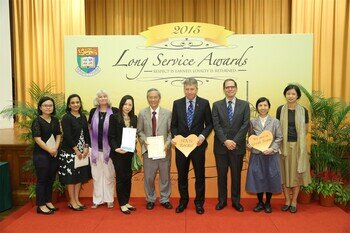The Long Service Awards Presentation Ceremony for staff on Terms of Service I