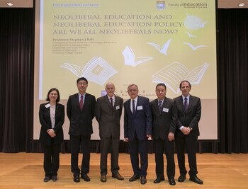 "Tin Ka Ping Distinguished Lecture on ""Neoliberal Education and Neoliberal Education Policy: Are We All Neoliberals Now?"""